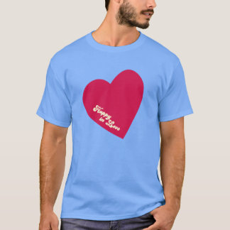 Happy In Love T-Shirt