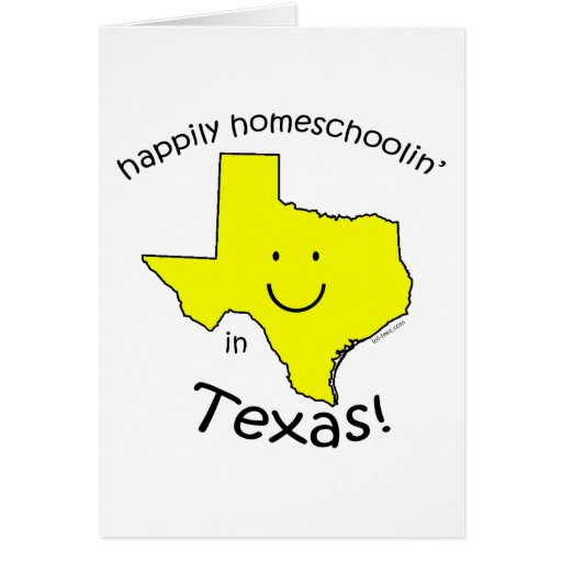 Happy in Texas Greeting Card