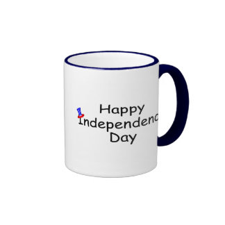 Happy Independence Day 2 Coffee Mugs