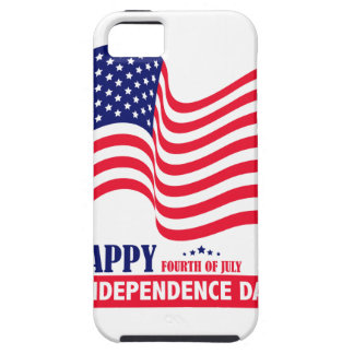 Happy Independence  Day 4 th July American Flag iPhone SE/5/5s Case