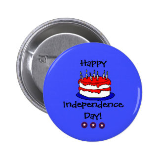 Happy Independence Day Button