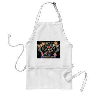 Happy Independence Day Celebration Adult Apron
