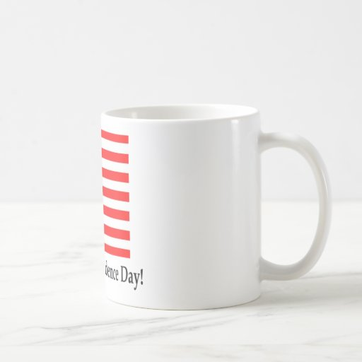 Happy Independence Day! Classic White Coffee Mug