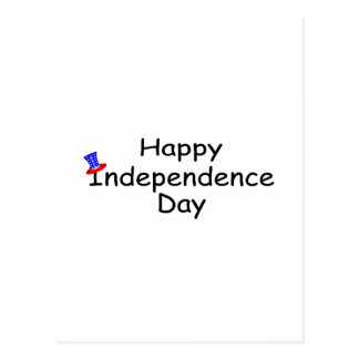 Happy Independence Day July 4 Postcard