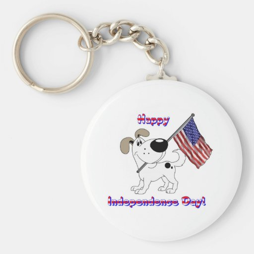 Happy Independence Day! Keychain