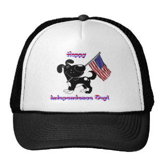 Happy Independence Day! Mesh Hat