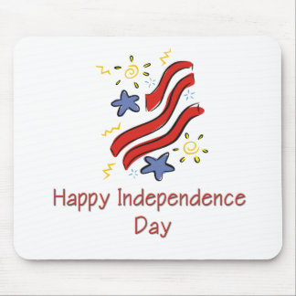 Happy Independence Day Mouse Pad