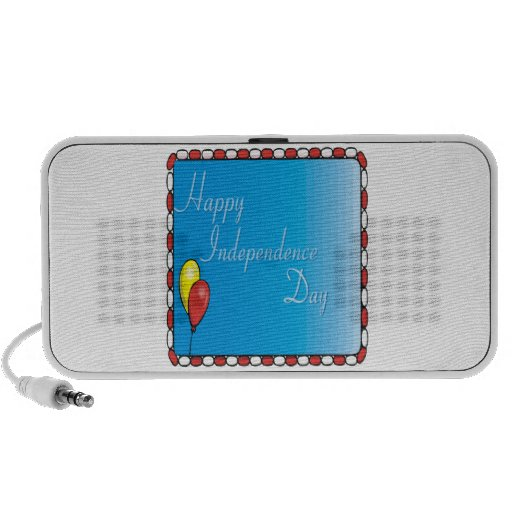 Happy Independence Day Notebook Speakers