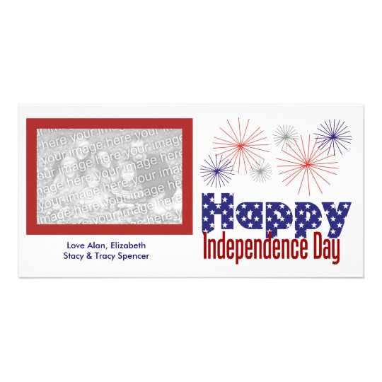 Happy Independence Day Photo Cards