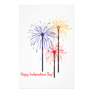 Happy Independence Day! Stationery