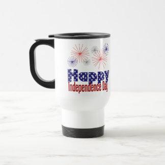 Happy Independence Day Travel Mug