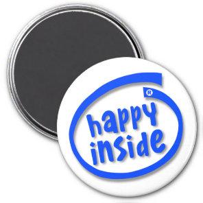 Happy Inside Magnet