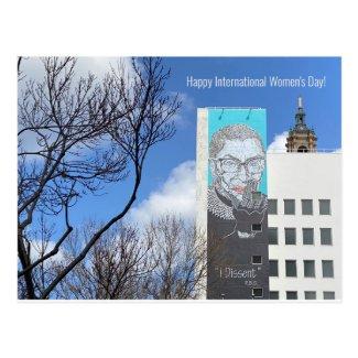 Happy International Women's Day! Postcard