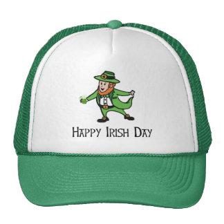 Happy Irish Day Mesh Hats