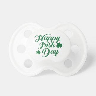 Happy irish day pacifier