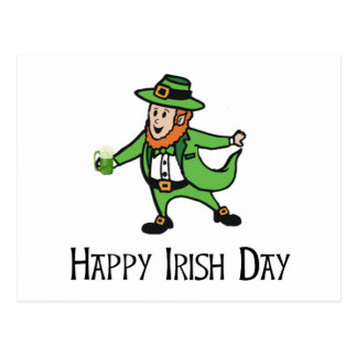 Happy Irish Day Postcard