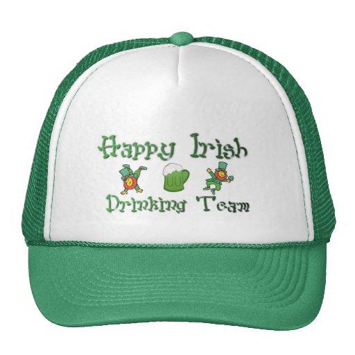 Happy Irish Drinking Team 2 Trucker Hat