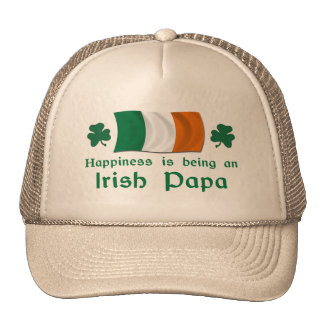 Happy Irish Papa Trucker Hat