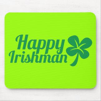 Happy Irishman! Mouse Pad