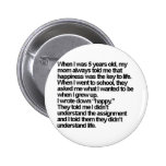 happy is me buttons