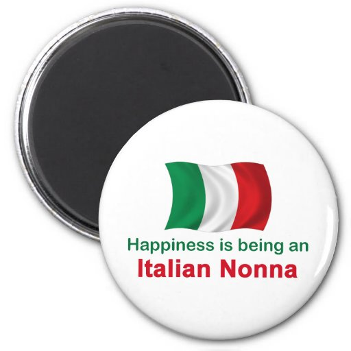 Happy Italian Nonna Magnet