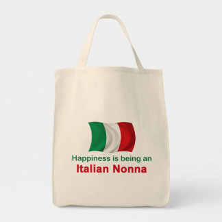 Happy Italian Nonna Tote Bag