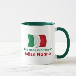 Happy Italian Nonno Mug