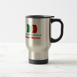 Happy Italian Nonno Travel Mug