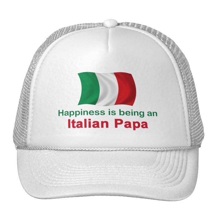 Happy Italian Papa Trucker Hat