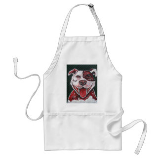 HAPPY ITALIAN PITBULL ADULT APRON