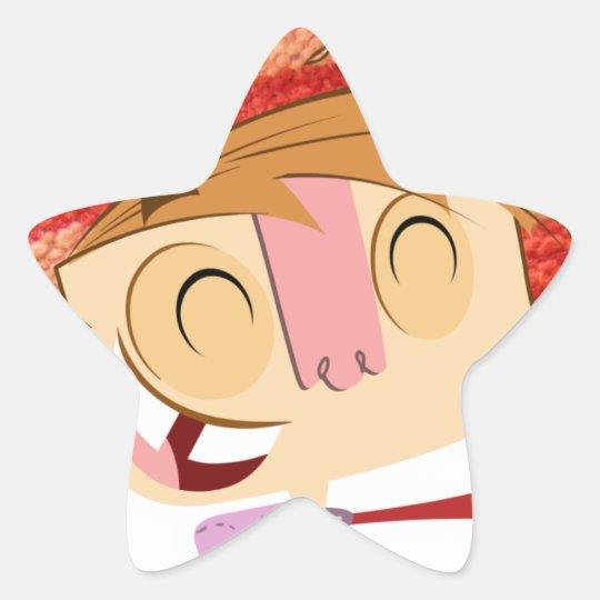 Happy Ivick Star Sticker