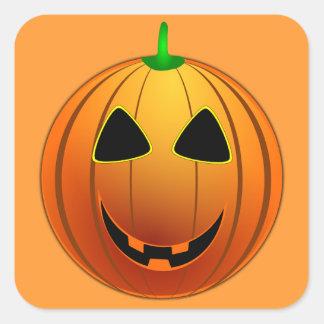 Happy Jack o' Lantern Halloween Sticker