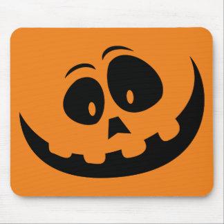 Happy Jack-O'-Lantern Pumpkin - Customize Mouse Pad