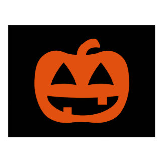 Happy Jack-O-Lantern Pumpkin Postcards