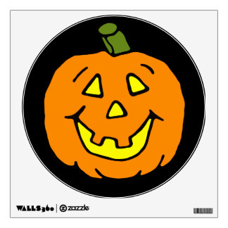 Happy Jack-o-lantern Wall Sticker