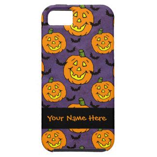 Happy Jack-o-lanterns and Bats iPhone SE/5/5s Case
