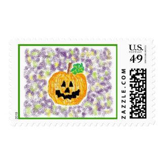 Happy Jack Pumpkin Stamp