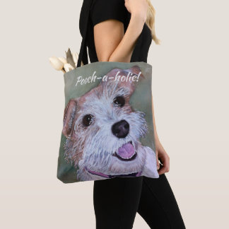 HAPPY JACK RUSSELL TOTE BAG