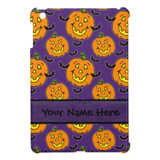 Happy Jackolanterns and Bats iPad Mini Case