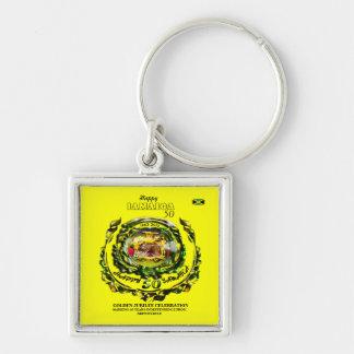 Happy Jamaica 50 Keychain