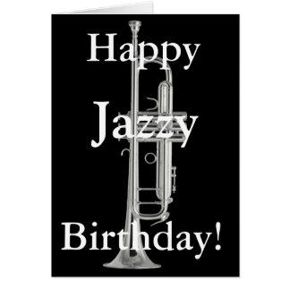 Happy Jazzy Birthday Card