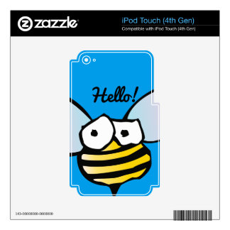 Happy Jolly Bee Decal For iPod Touch 4G