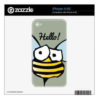 Happy Jolly Bee Skin For The iPhone 4S