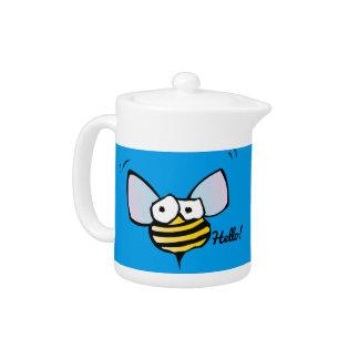 Happy Jolly Bee Teapot