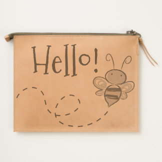 Happy Jolly Bee Travel Pouch