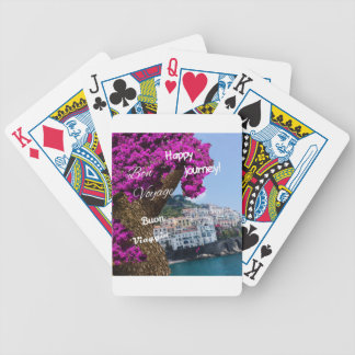 Happy journey bicycle playing cards
