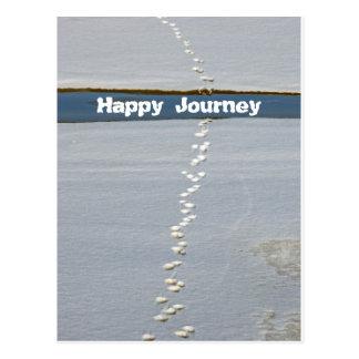 Happy Journey Postcard