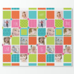 Happy Joyful Fun Photo Wrapping Paper