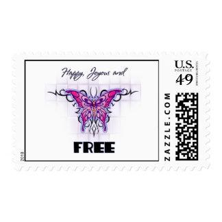 Happy Joyous free Postage Stamp