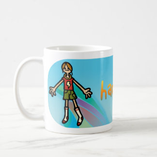 happy juice. coffee mug